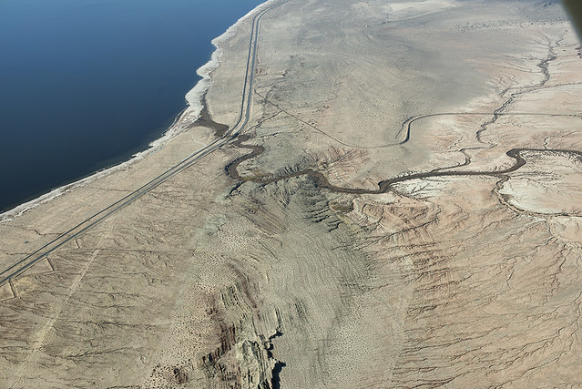 Above the San Andreas Fault, Salt Creek, and the Salton Sea, Riverside County, California