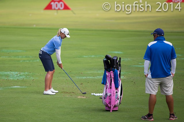 Some ladies golfers - Practice Round - Day 2 (some pics) 12761497303_1ff9b161f5_z