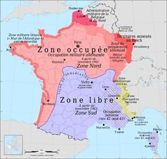 france map worldwarII