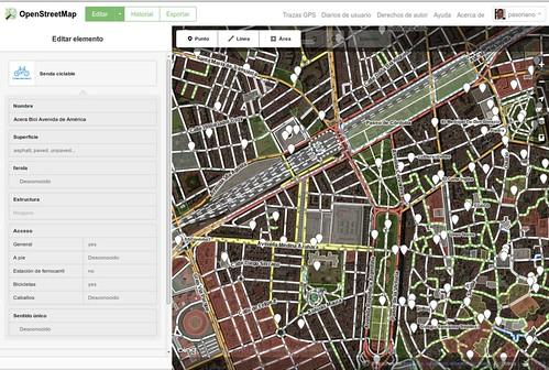 Editor online ID de OpenStreetMap