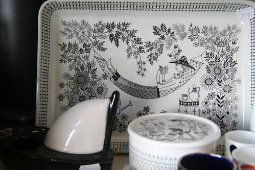女主人喜歡的作品之一Emilia系列 由 Raija Uosikkinen 設計