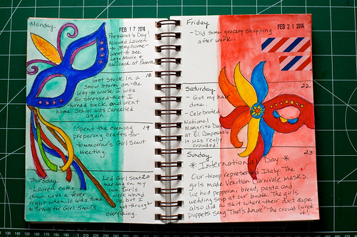2014 Sketch Journal - Week 8