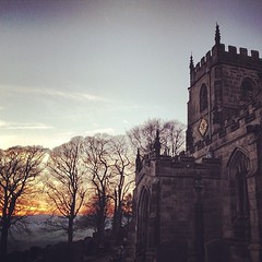 Bradfield church #bradfield #sheffield