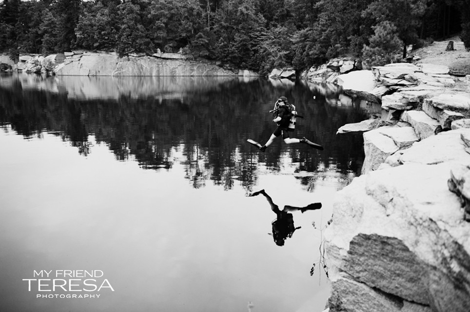 cary academy senior, my friend teresa photography, senior portrait diving