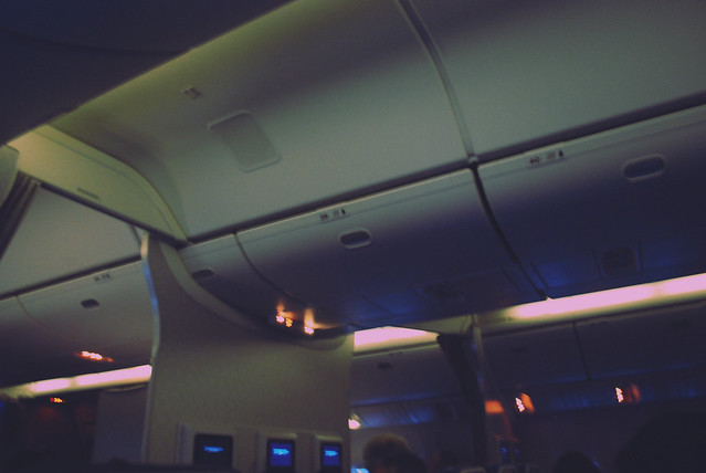 airplane interior photo