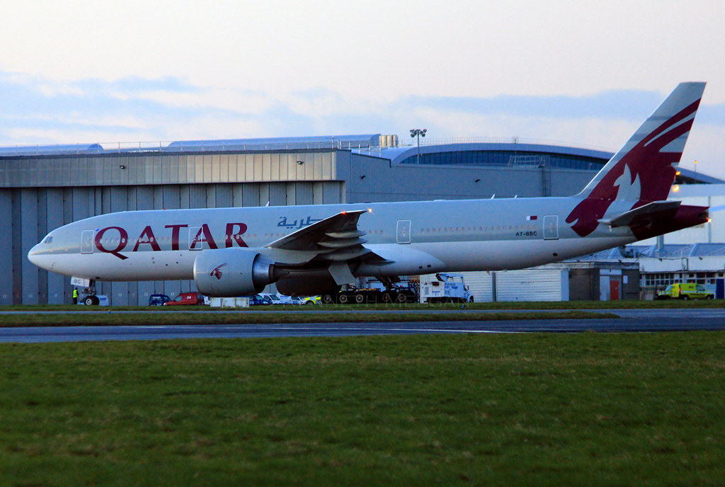 A7-BBC - B77L - Qatar Airways