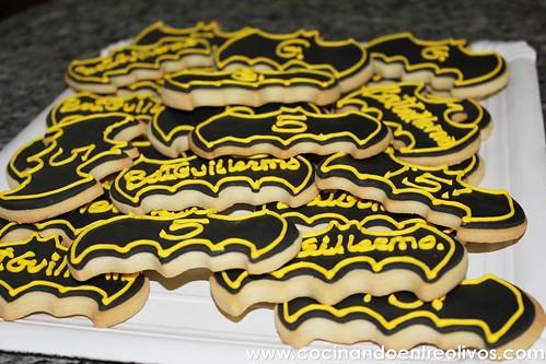 Galletas de Batman www.cocinndoentreolivos.com