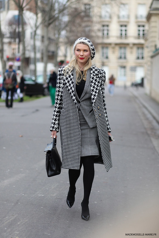 Zhanna Bianca at Paris fashion week