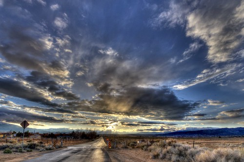 sunset sky streets clouds rural moody nevada reno cloudsstormssunsetssunrises