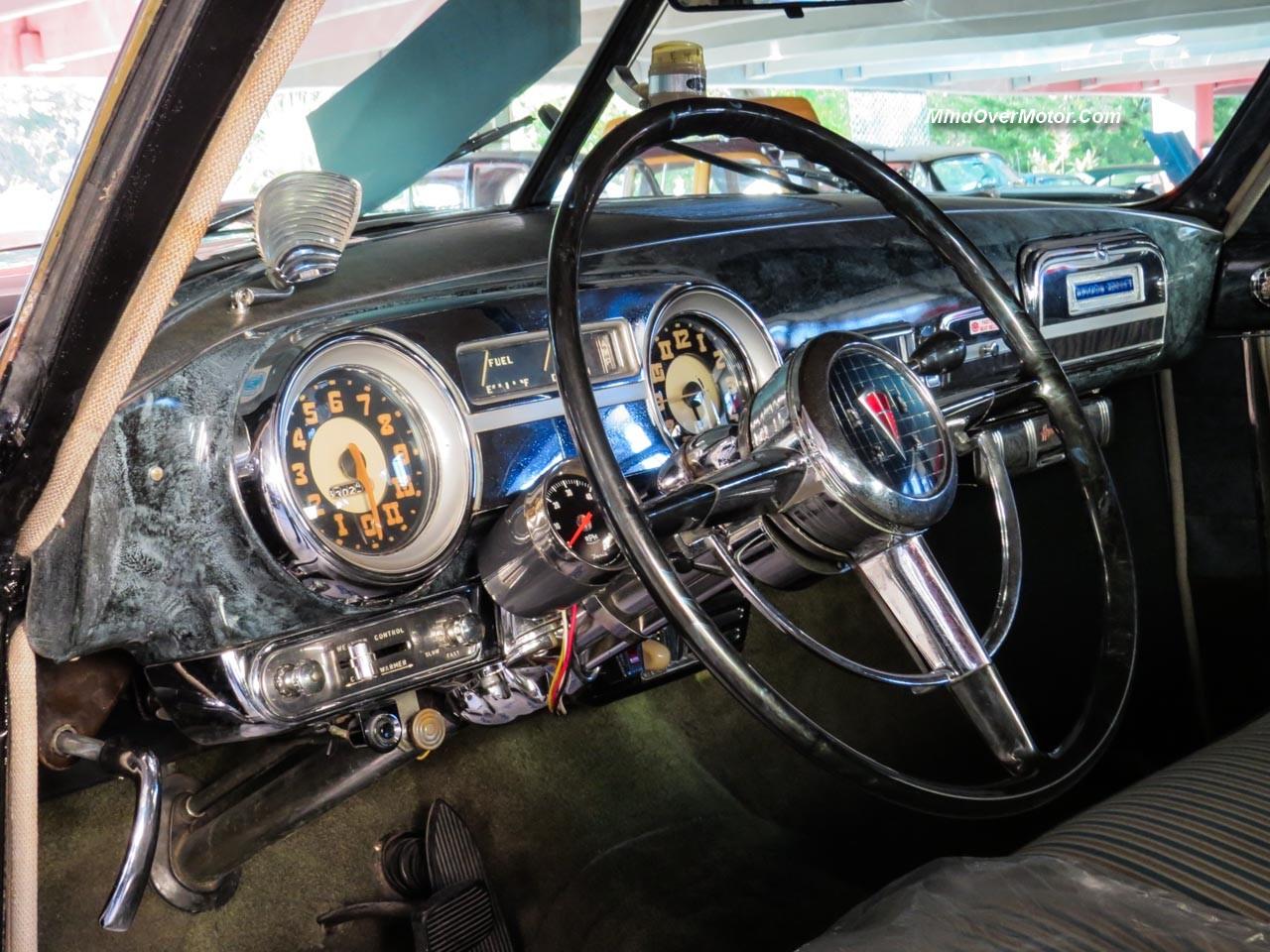 1952 Hudson Hornet Sedan Dashboard