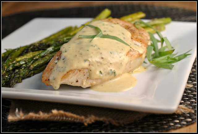 Chicken with Mustard Cream Sauce 4
