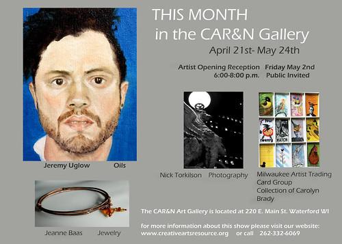 April- May  CAR&N Art Gallery 2014