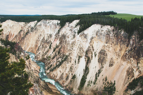 Through the Yellowstone Canyon