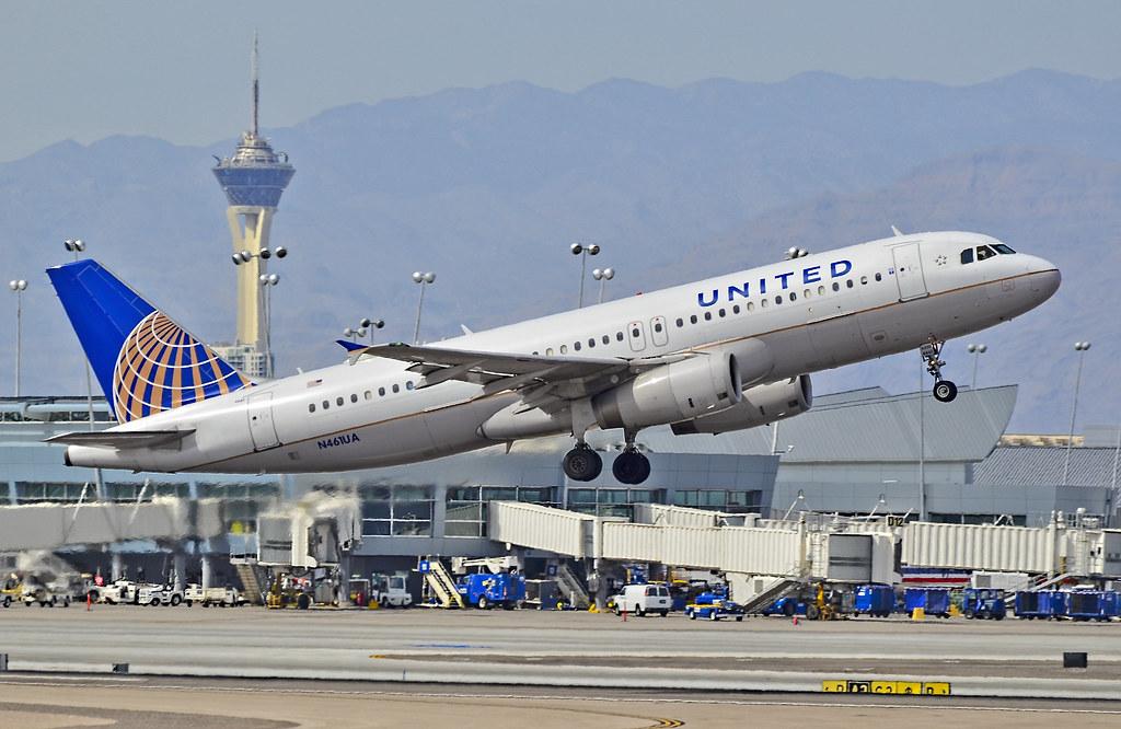 N461UA United Airlines 2000 Airbus A320-232 - cn 1266