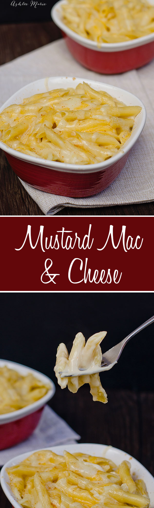 a creamy mac and cheese recipe with 3 different cheeses and a touch of mustard that brings out a wonderful flavor, my kids actually love this more than the boxed mac and cheese dinners