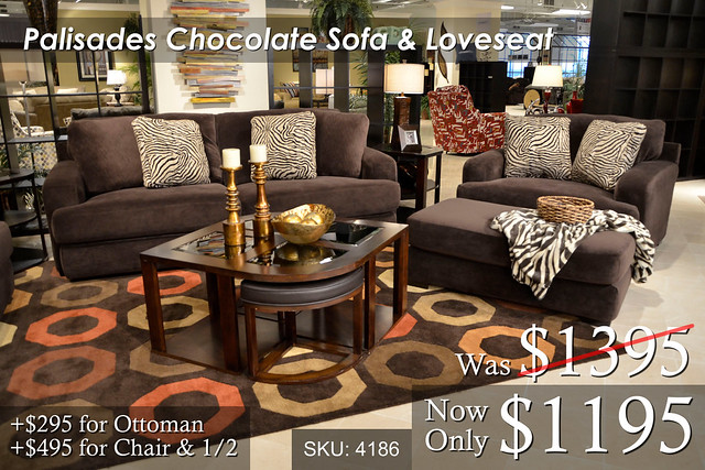 Palisades Chocolate Sofa Love