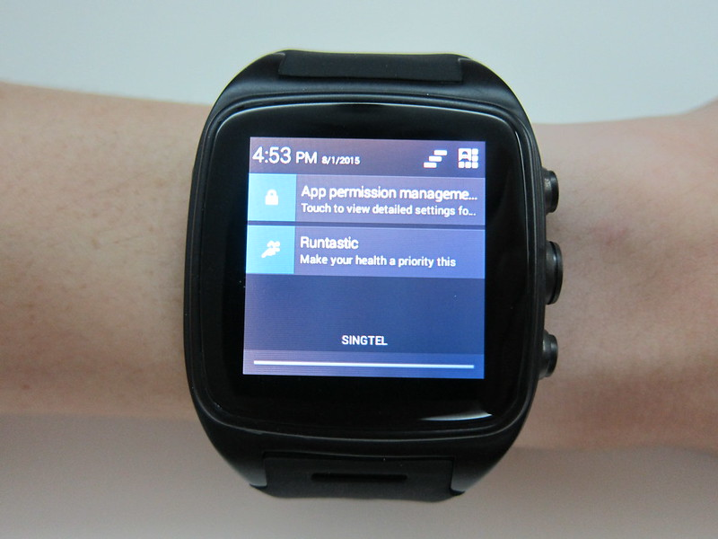 iMacwear M7 - Notifications
