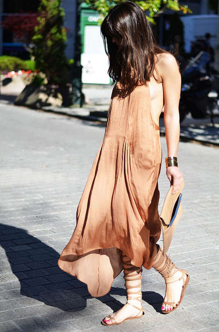 Gladiator Sandals Outfits Streetstyle Summer5