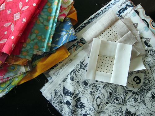 happy fabricy bits