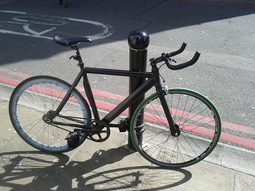 Fixed gear in London