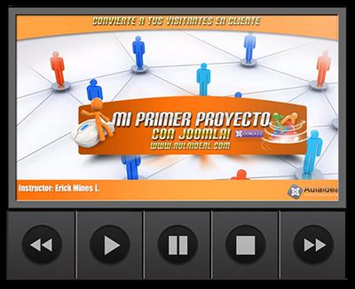 Aulaideal: Curso Mi primer proyecto con joomla 2.5 [2013]