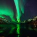 Aurora in Ersfjordbotn II by John A.Hemmingsen