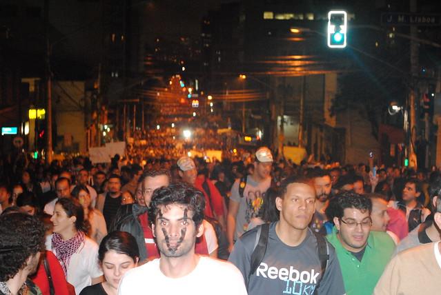 Manifestação Passe Livre - São Paulo
