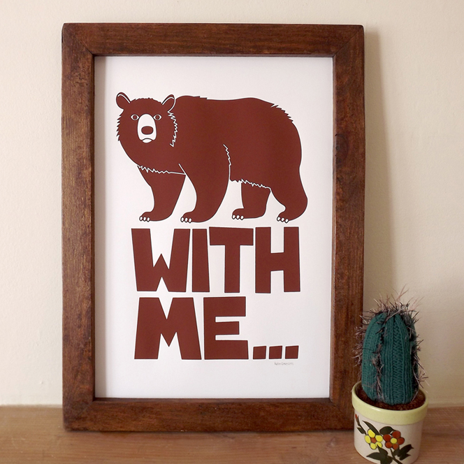 BEAR_WITH_ME_screenprint_hello_dodo