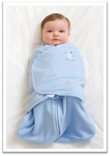 Halo SleepSack Swaddle. Wearable baby blanket.