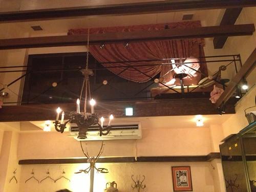 天井が高くて居心地がいい。@ヌガ(Le Nougat)
