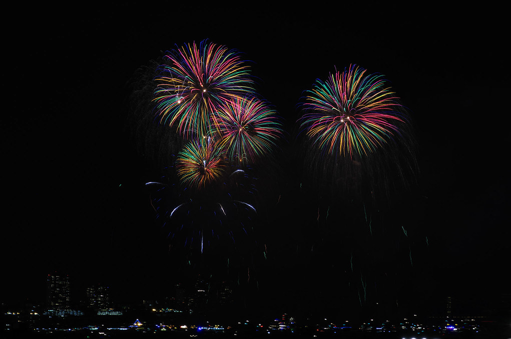 ☆補考☆ 2013年7月4日美國國慶煙火