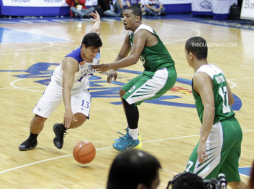 UAAP Season 76: De La Salle Green Archers vs. Ateneo Blue Eagles, July 7