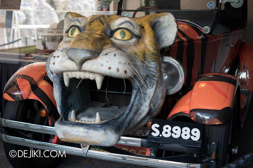 Haw Par Villa - Custom Tiger Car