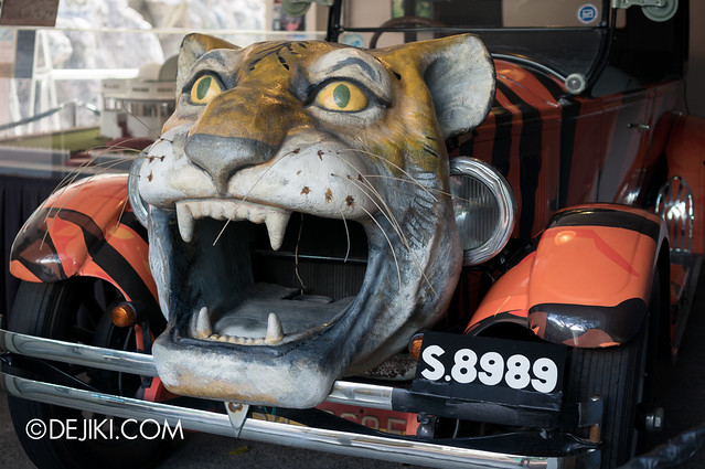 Haw Par Villa - Custom Tiger Car