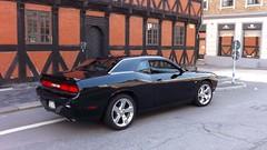 stock car racing(0.0), muscle car(0.0), automobile(1.0), automotive exterior(1.0), dodge(1.0), vehicle(1.0), performance car(1.0), automotive design(1.0), dodge challenger(1.0), classic car(1.0), land vehicle(1.0), luxury vehicle(1.0),