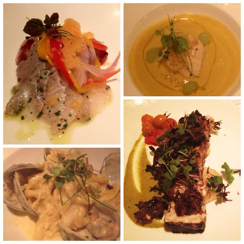 4 course meal at the Ebbit Room