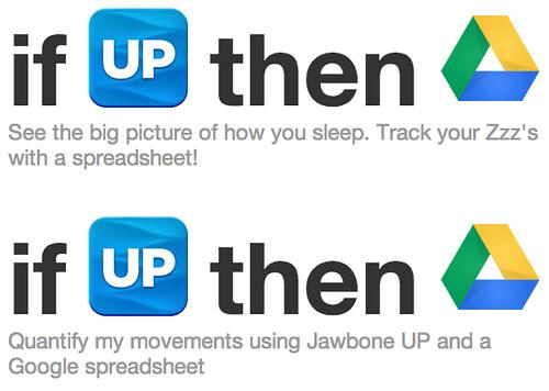 5 IFTTT Jawbone UP→Dropbox
