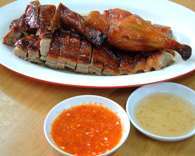 Roast Duck at Yi Kee