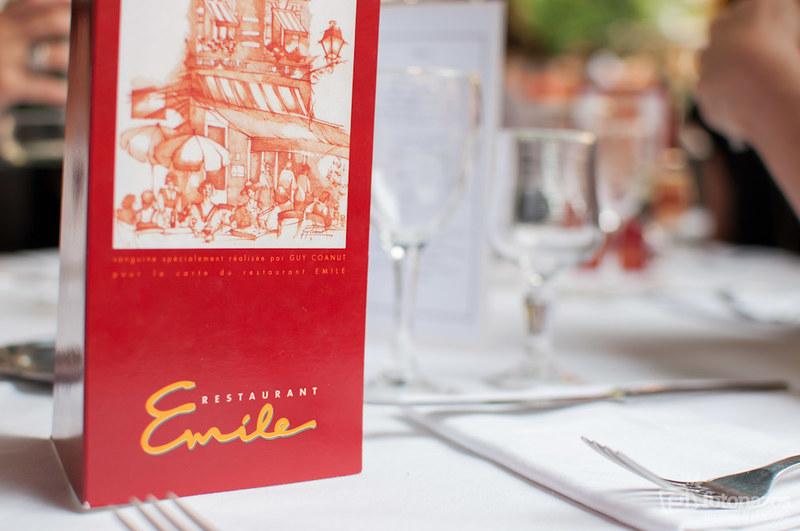 Cenar en Toulouse: Restaurante Emile