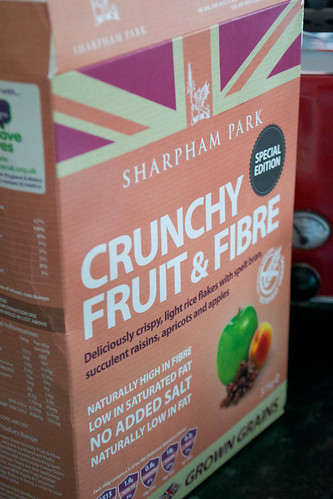 fruit and fibre sharpham park cereal