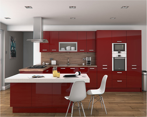 Altino Red Kitchen