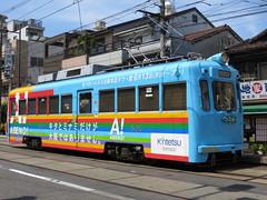 Hankai Tramway 504 (July 2013)