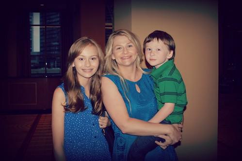 Zoe + Mom + Troy