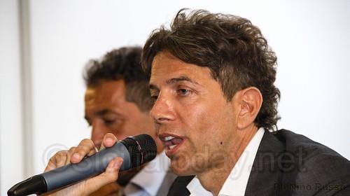 Catania,presentazione Peruzzi, Biraghi e Guarente$