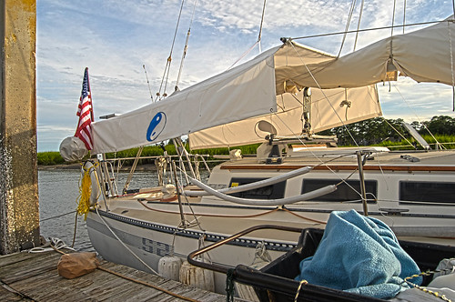 S/V Take Five Has A Proper Awning
