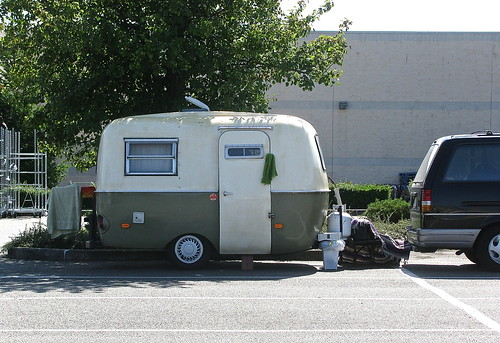 Camping Wal-Mart style