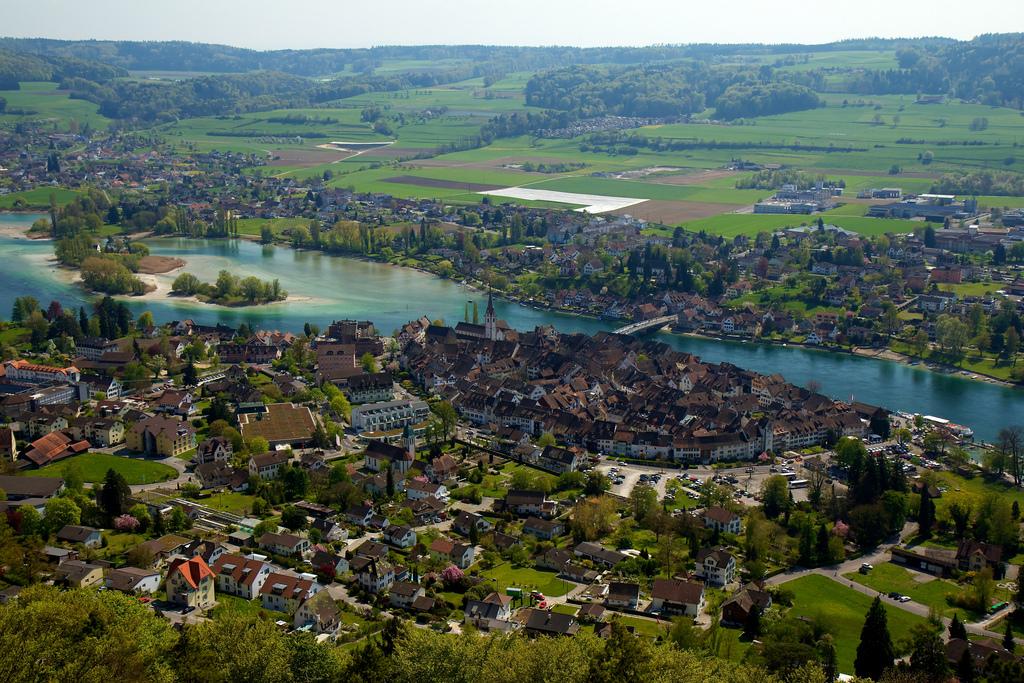 25. Stein am Rhein, en el cantón suizo de Schaffhausen.