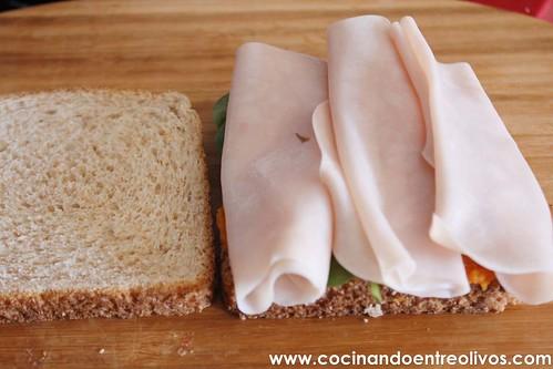 Sandwiches de pavo y calabaza www.cocinandoentreolivos (9)
