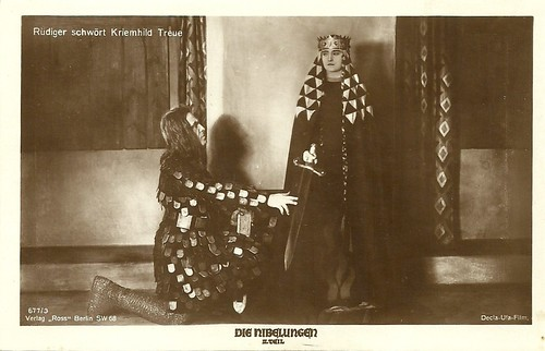 Die Nibelungen: Margarethe Schön as Kriemhild