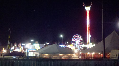 Fair at nighttime